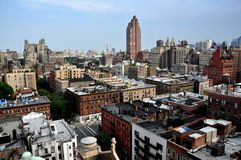 NYC: Upper West Side Panorama Stock Image