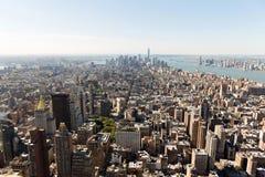 NYC urban skyscrapers Stock Photos