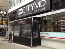 NYC Urgent Care Center royalty free stock images