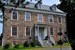 NYC: 1748 Van Cordtlandt Manor σπίτι στοκ εικόνες με δικαίωμα ελεύθερης χρήσης