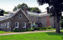 NYC: Van Cortlandt Manor House Museum 1748 Royaltyfria Bilder