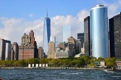 NYC van de binnenstad stock foto