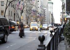 NYC-Verkehr Lizenzfreie Stockfotografie