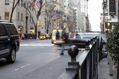 NYC-Verkehr Stockbilder