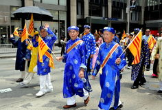 NYC: Vietnamese Marching in Parade Stock Photography