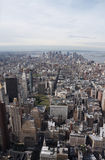 NYC view from  above Royalty Free Stock Photography