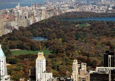 NYC: View of Central Park Royalty Free Stock Image