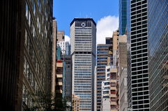 NYC: View to Met Life Tower on Manhattan's East Side Stock Photography