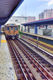 NYC Vintage Subway Train Stock Images