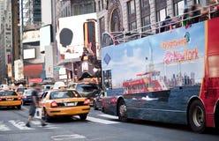 NYC visitant le pays Photos libres de droits