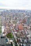 NYC von der Spitze der Welt Lizenzfreie Stockbilder