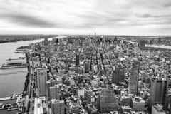 NYC von der Spitze der Welt Lizenzfreies Stockbild