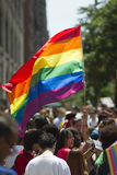 NYC Vrolijk Pride March Stock Foto