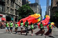 NYC: 2014 Vrolijk Pride Parade Royalty-vrije Stock Foto