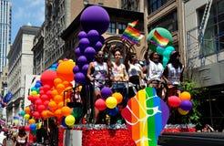 NYC: 2014 Vrolijk Pride Parade Royalty-vrije Stock Afbeeldingen