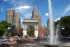 NYC: Washington-quadratischer Park Lizenzfreie Stockbilder