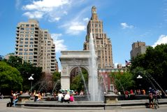 NYC: Washington Square Park Royalty Free Stock Photography