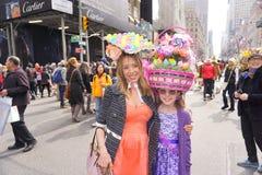 2015 NYC Wielkanocnej parady & czapeczki festiwal 64 Obraz Royalty Free