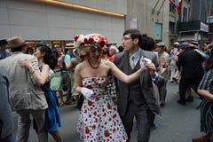 2015 NYC Wielkanocnej parady & czapeczki festiwal 41 Zdjęcia Royalty Free