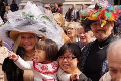 2015 NYC Wielkanocnej parady & czapeczki festiwal 14 Obraz Royalty Free