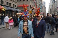 2015 NYC Wielkanocnej parady & czapeczki festiwal 20 Zdjęcie Royalty Free