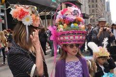 2015 NYC Wielkanocnej parady & czapeczki festiwal 26 Obraz Royalty Free