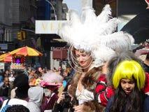 2016 NYC Wielkanocnej parady I czapeczki festiwal 71 Obrazy Stock