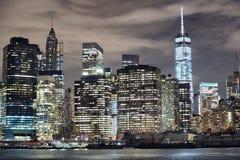 NYC y Freedom Tower Fotografía de archivo