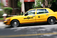 NYC yellow cabs Stock Photography