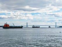 NYC zu Staten Island stockfotos
