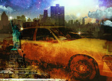 NYC-Zusammensetzung Lizenzfreies Stockfoto