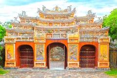 Nyckel Hien Lam Pavilion arkivbild