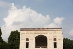 Nyckel inom det Humayun's gravvalvkomplexet Arkivfoton