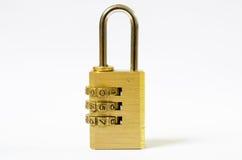 Nyckel- lås Fotografering för Bildbyråer