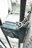 Nyckel- lås Arkivbilder