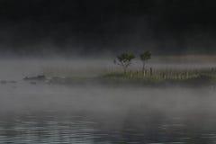 Nyckel- mist för Lough Arkivfoto