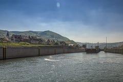 Nyckel på den Moselle floden Royaltyfria Bilder