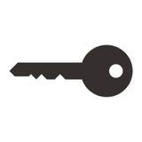 Nyckel- symbol Royaltyfri Fotografi