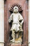 Nyckel till abbotskloster av Corvey, Tyskland Royaltyfri Fotografi