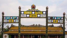 Nyckel till den thailändska Hoa slotten Arkivbild