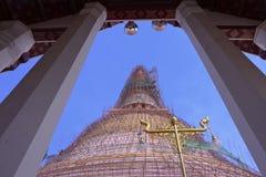 Nyckel till ombyggande av pagoden Royaltyfri Bild