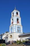 Nyckelbelltower av den Nikitsky kloster Pereslavl-Zalessky Ryssland Fotografering för Bildbyråer