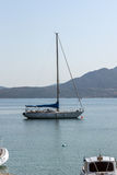 NYDRI, LEUCADE, GRÈCE 17 JUILLET : Port à la baie de Nydri, Leucade, Grèce Image stock