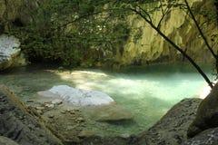Nydri-Wasserfälle stockfoto