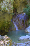Nydri waterfall,Lefkada,Greece Stock Photo