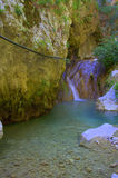 Nydri waterfall,Lefkada,Greece Royalty Free Stock Photography