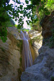 Nydri waterfall,Lefkada,Greece Stock Images