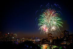 NYE Fireworks Royalty Free Stock Image