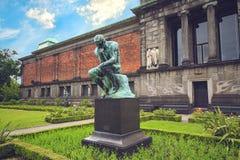 Nyen Carlsberg Glyptotek är en konstmusem i Köpenhamn Royaltyfri Bild