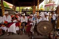 Nyepi - un día del Balinese de silencio Fotos de archivo libres de regalías